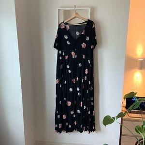 Torrid Challis floral dress